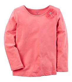 Carter's Baby Girls' 12M-24M Bow Tee