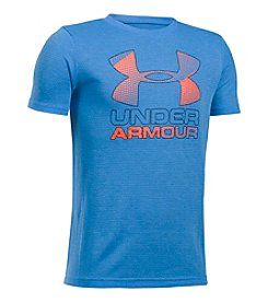 Under Armour® Boys' 8-20 Short Sleeve UA Tech™ Logo Tee