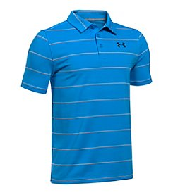Under Armour® Boys' 8-20 Short Sleeve Performance Stripe Polo