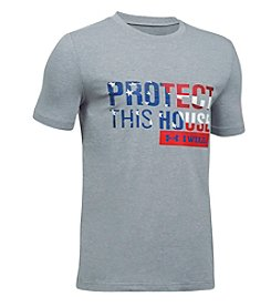 Under Armour® Boys' 8-20 Short Sleeve Protect This House Tee
