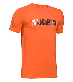 Under Armour® Boys' 8-20 Short Sleeve Branded Tee
