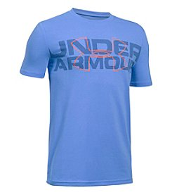 Under Armour® Boys' 8-20 Short Sleeve Amped Tee