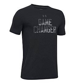 Under Armour® Boys' 8-20 Short Sleeve Game Changer Tee