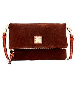 Dooney & Bourke® Suede Foldover Zip Crossbody