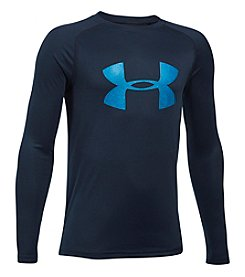 Under Armour® Boys' 8-20 Long Sleeve Big Logo Shirt