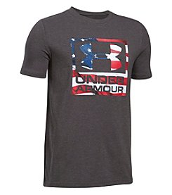 Under Armour® Boys' 8-20 Short Sleeve Freedom Tee