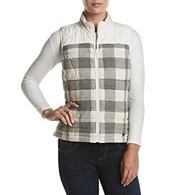 Ruff Hewn Plaid Pattern Vest