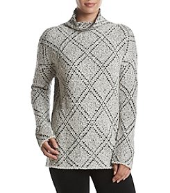 Philosophy by Republic Clothing Pattern Turtleneck Sweater