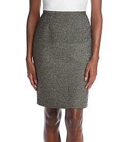 Calvin Klein Boucle Pencil Skirt