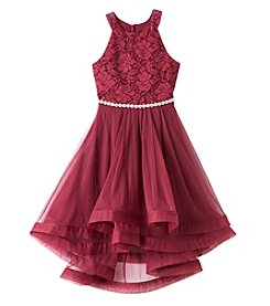 Speechless Girls' 7-16 Sleeveless Knee Length Dress