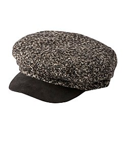Collection 18 Corduroy Military Newsboy Hat
