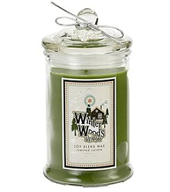 Deco Glow 10-oz. Winter Woods in a Jar Holiday Candle