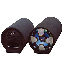 Pyle Blue Wave Series Amplified Subwoofer Tube System