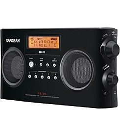 Sangean Digital Portable Stereo Receivers with AM/FM Radio