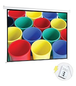 Pyle Pro Motorized Projector Screen