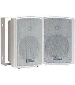 Pyle Pro Indoor/Outdoor Waterproof On-Wall Speakers