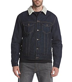 Ruff Hewn Men's Denim Trucker Jacket