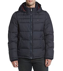 Tommy Hilfiger Men's Hooded Puffer Jacket
