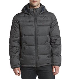 Tommy Hilfiger Nylon Hooded Fashion Pufferjacket