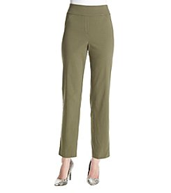 Alfred Dunner® Petites' Palm Pants
