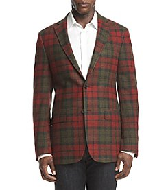 Lauren Ralph Lauren Men's Big & Tall Tartan Sport Coat