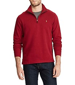 Polo Ralph Lauren Men's Big & Tall Estate-Rib Half Zip Pullover