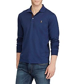 Polo Ralph Lauren® Men's Big & Tall Long Sleeve Classic Fit Polo