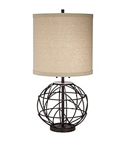 Pacific Coast Lighting Alloy Globe Table Lamp