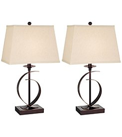 Pacific Coast Lighting Set of 2 Novo Table Lamps