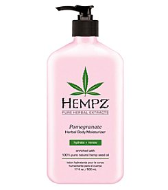 Hempz Pomegranate Herbal Body Moisturizer, 17 oz.