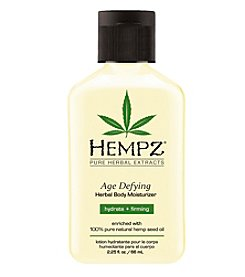 Hempz Age Defying Herbal Body Moisturizer, 2.25 oz.