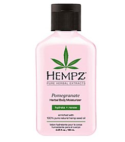 Hempz Pomegranate Herbal Body Moisturizer, 2.25 oz.