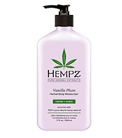Hempz Vanilla Plum Herbal Body Moisturizer, 17 oz.