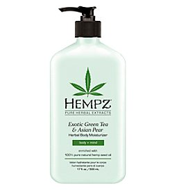 Hempz Exotic Green Tea and Asian Pear Herbal Body Moisturizer, 17 oz.