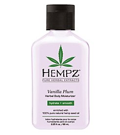 Hempz Vanilla Plum Herbal Body Moisturizer, 2.25 oz.