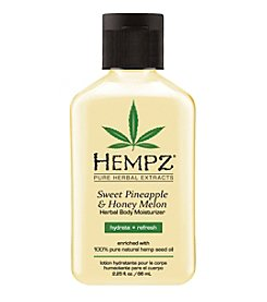 Hempz Sweet Pineapple and Honey Melon Herbal Body Moisturizer, 2.25 oz.