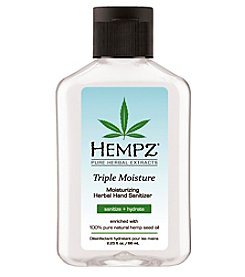 Hempz Triple Moisture Moisturizing Herbal Hand Sanitizer, 2.25 oz.
