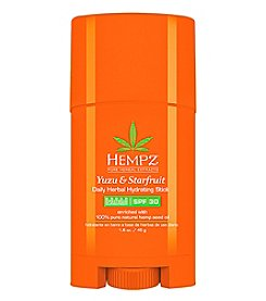 Hempz Yuzu and Starfruit Daily Herbal Hydrating Stick with SPF 30