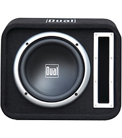 Dual 10 Inch Vented Subwoofer Bandpass Box