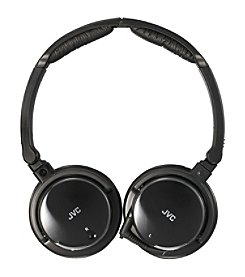 JVC  Noise-Cancelling Headphones with Retractable Cord