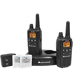 Midland 30-Mile GMRS Radio Pair Pack with Drop-In Charger