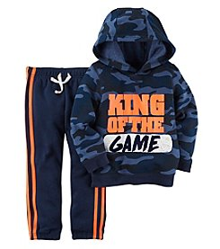 Carter's Boys' 12M-4T 2 Piece King Of The Game Top and Pants Set