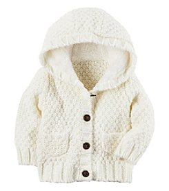 Carter's Baby Girls' 3M-24M Long Sleeve Sherpa Jacket