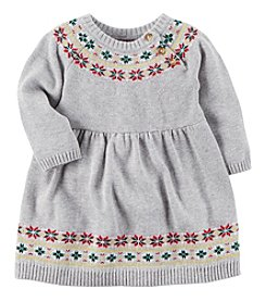 Carter's Baby Girls' Fairisle Dress and Bloomers Set