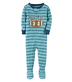 Carter's Boys' 12M-4T Rookie Football One Piece Pajamas