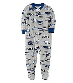 Carter's Baby Boys' 12M-4T Police Cars One Piece Pajamas