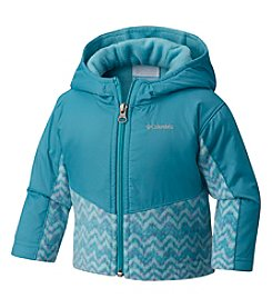 Columbia Girls' 2T-4T Steens Mountain™ Overlay Hoodie Jacket