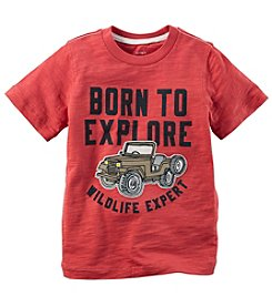Carter's Boys' 2T-7 Born To Explore Graphic Tee
