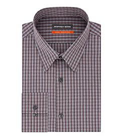 Geoffrey Beene Checkered Long Sleeve Button Down