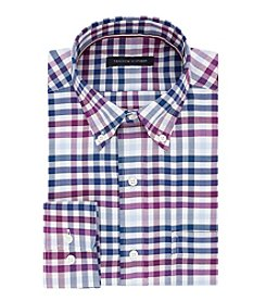 Tommy Hilfiger Checkered Button Down Dress Shirt